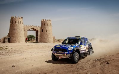 MINI ALL4 Racing – Qatar Cross Country Rally 2017 (Mohamed Abu Issa/Xavier Panseri)