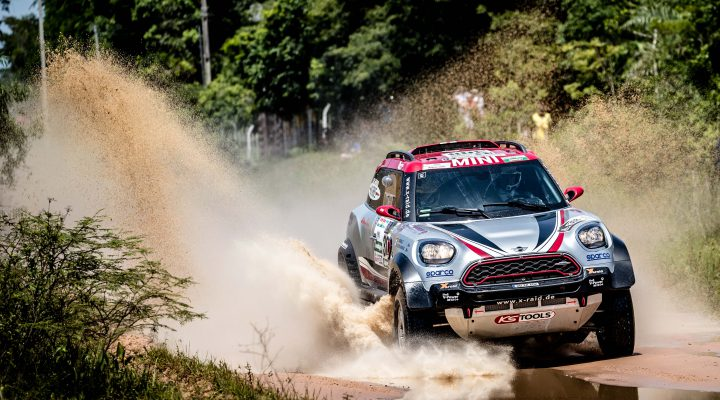 Dakar 2017: Gutes Debüt für den MINI John Cooper Works Rally