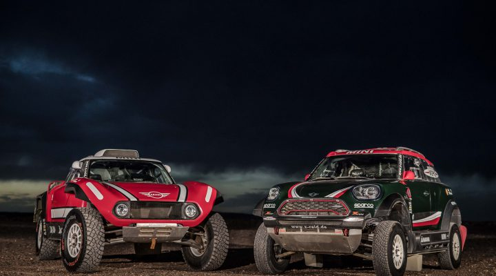 2018 Dakar: X-raid launches second drive concept