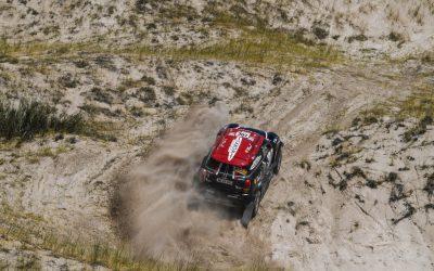 2018 Dakar // SS10: Three MINI secure Top 10 positions