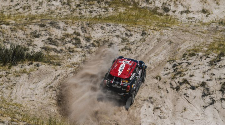 2018 Dakar // SS10: Three MINI secure Top 10 positions