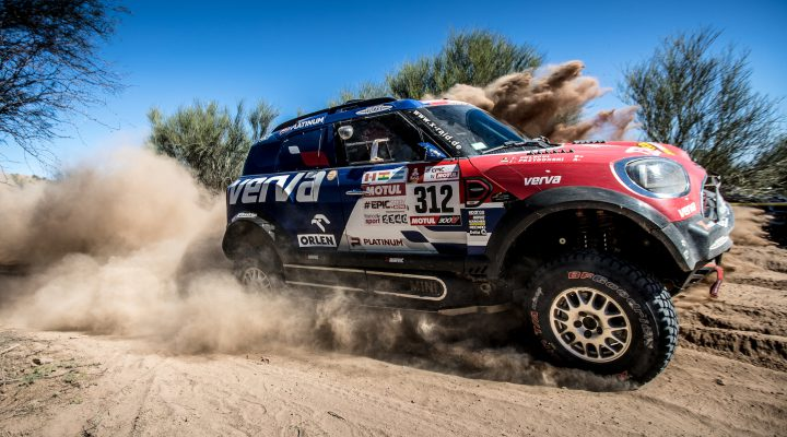 2018 Dakar // SS13: Przygonski works his way up to fifth overall