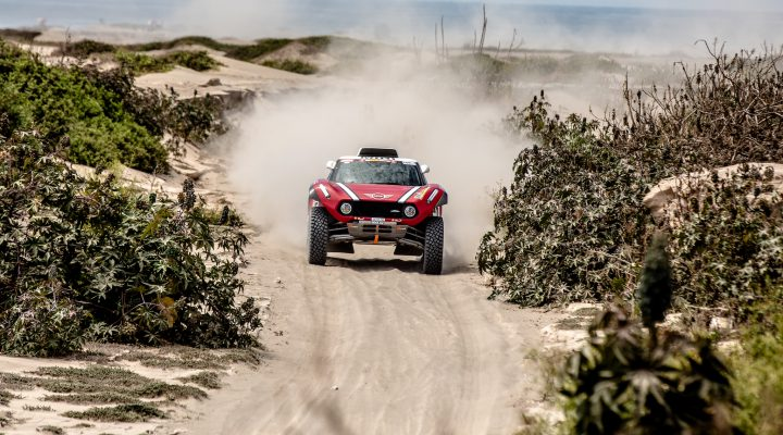 Dakar 2018 // SS4: Zwei Top 10 Positionen für den MINI John Cooper Works Buggy