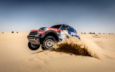 Dubai Baja: Przygonski gewinnt im MINI John Cooper Works Rally