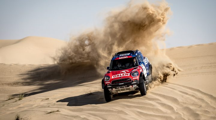 ADDC: Przygonski in second place overall in MINI JCW Rally