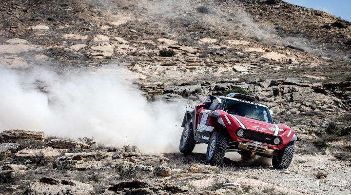 Rally Kazakhstan: Successful half-time for X-raid