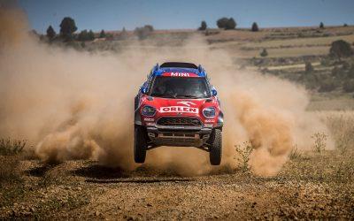 Baja Aragon: Kuba Przygonski comes second in his MINI JCW Rally