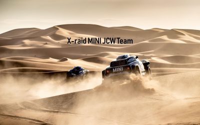 Dakar Rally SS6: All three MINI JCW Buggy in the top 10