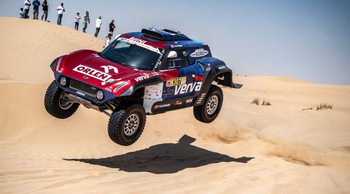 Dubai International Baja: Przygonski claims maiden win for the MINI JCW Buggy