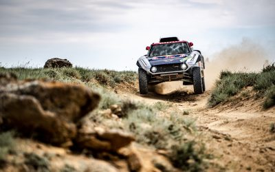 Rally Kazakhstan: Two podium positions for X-raid