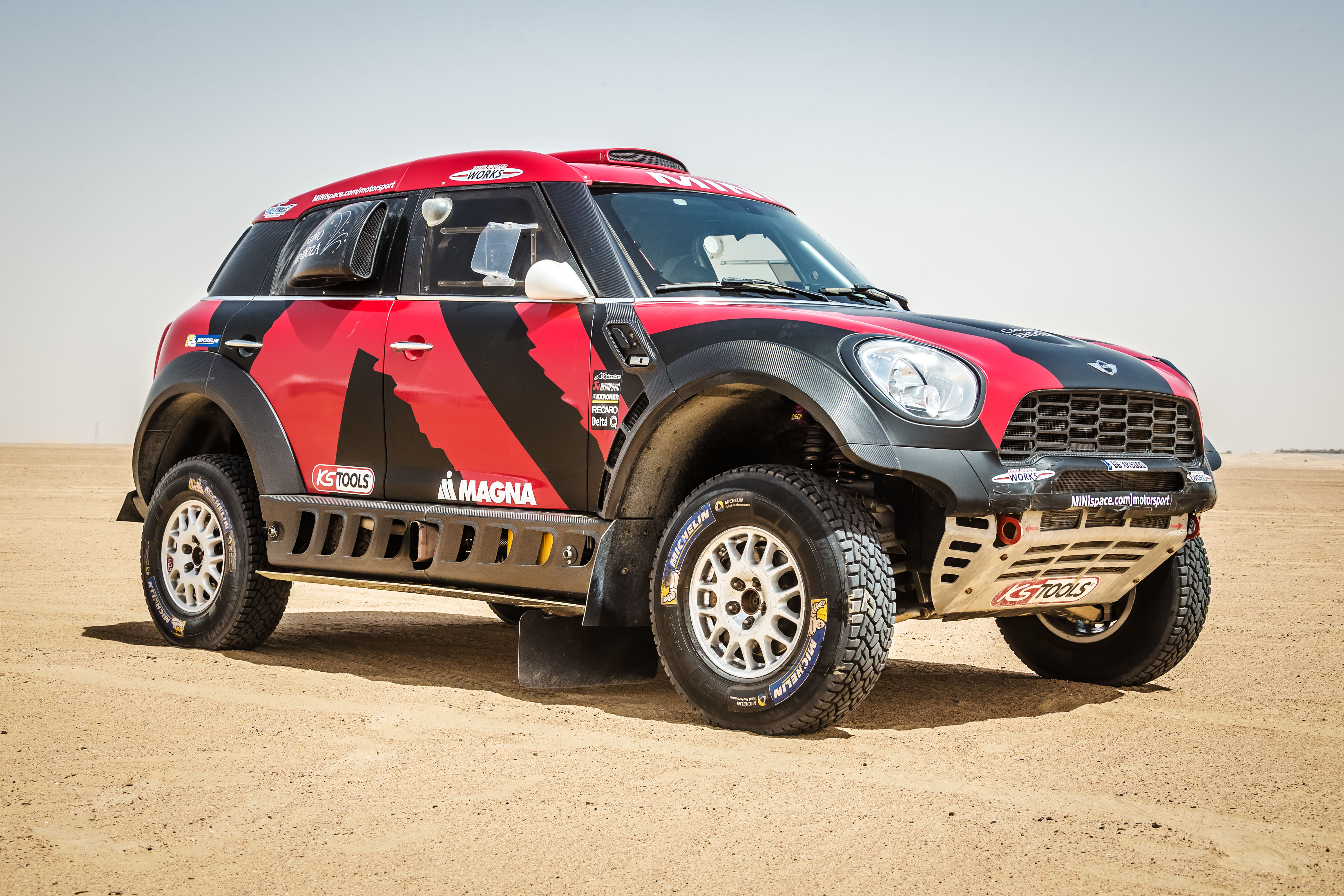Mini All 4 Racing X Raid Team