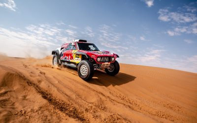 Dakar 2020: Paulo Fiúza in the MINI JCW Buggy