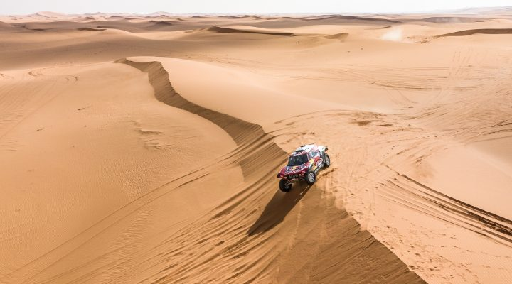 Riyadh Rally: Two MINI JCW Buggy on the podium