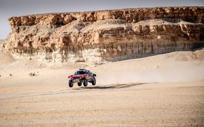 Sharqiyah Baja: Second place for Carlos Sainz