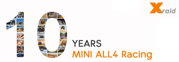 The MINI ALL4 Racing – a ten-year success story