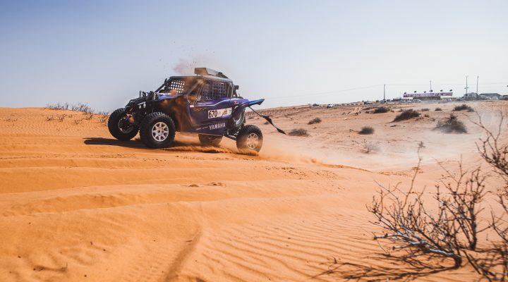 Hail Baja 2: Successful test for the Yamaha YXZ1000R prototype
