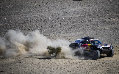 Dakar 2021//SS1: Two MINI JCW Buggies lead the way