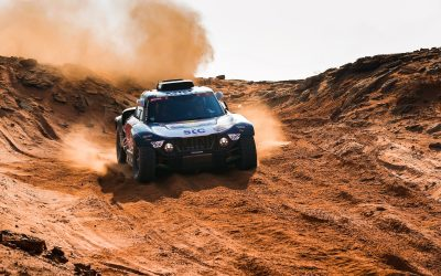Dakar 2021 // Stage 8: Both MINI JCW Buggies in the top three again