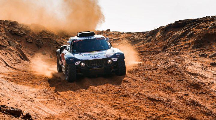 Dakar 2021 // 8. Etappe: Erneut beide MINI JCW Buggy in den Top 3
