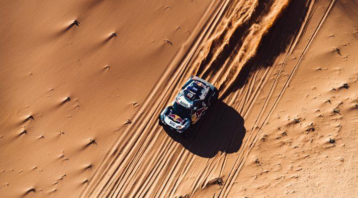Dakar 2021 // SS4: Four MINI desert racers in the top ten