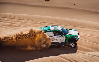 Dubai Int. Baja: Third place for Yasir Seaidan