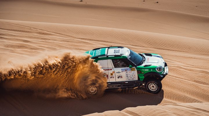 Dubai Int. Baja: Third place for Yasir Seaidan