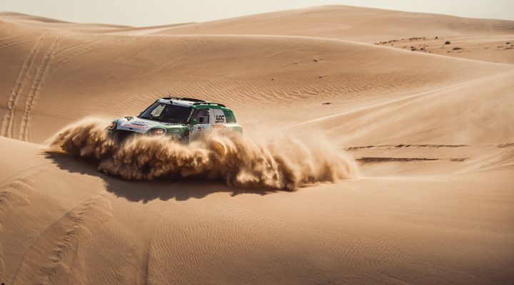 Sharqiyah Baja: Seaidan wins in a MINI JCW Rally