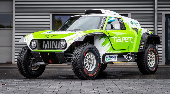 Sebastian Halpern to drive the MINI JCW Buggy